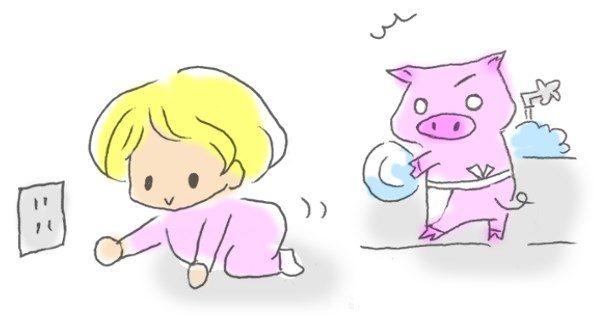 赤ちゃん事故防止