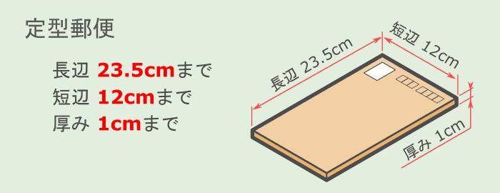 2017年6月からの定型郵便で送れるサイズのイラスト