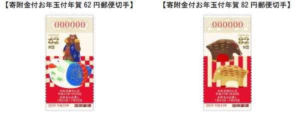 平成31年お年玉付き切手